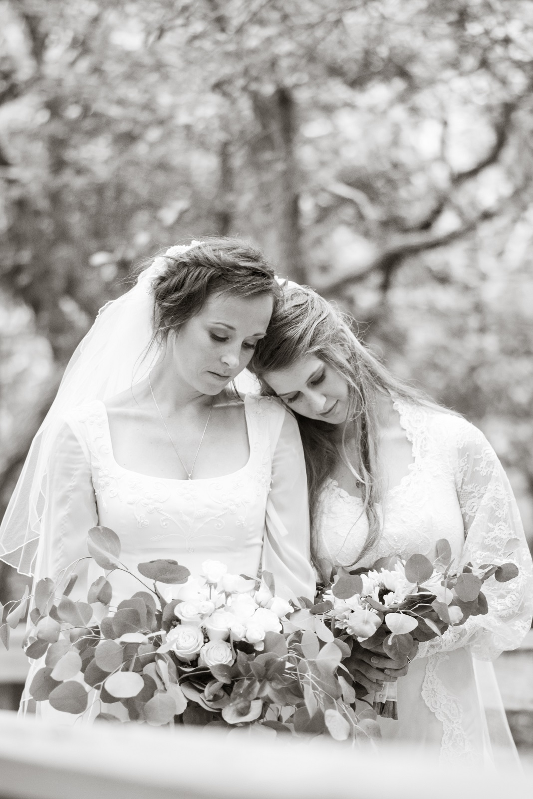 Bohemian brides magical forest