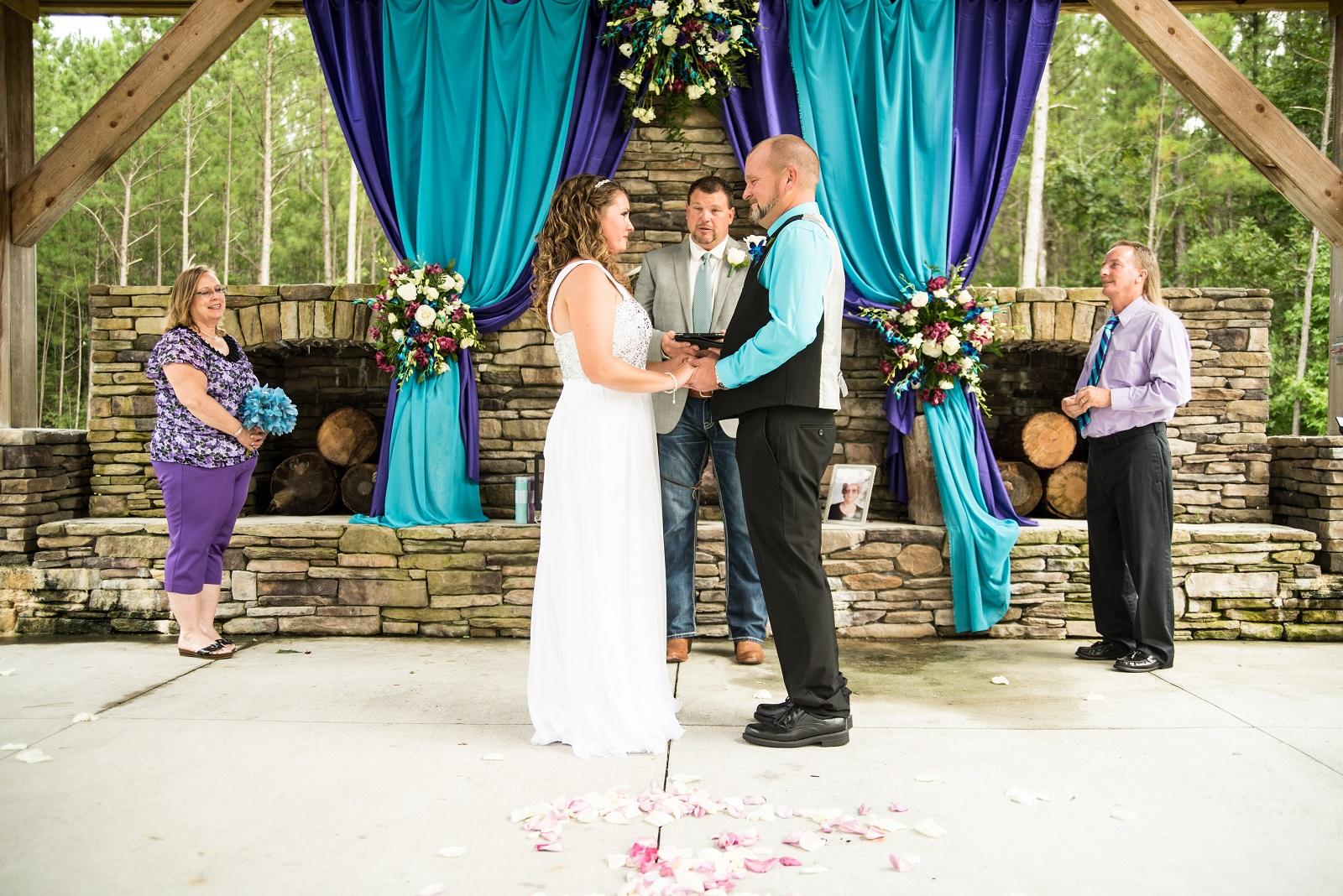 Summer South River Wedding