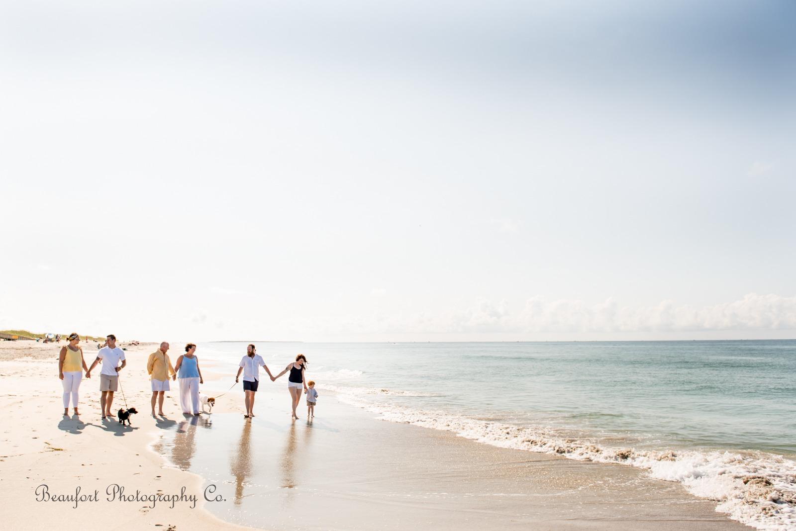 Beaufort Photography Co. lifestyle family portrait Beaufort Crystal Coast beach photo